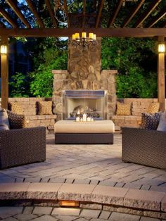 Over 100 Outdoor Fireplace Design Ideas  http://www.pinterest.com/njestates1/fireplace-design-ideas-outdoor  Thanks To http://www.njestates.net/real-estate/nj/listings