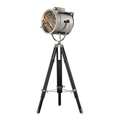 Buy the Dimond Lighting Chrome and Black Direct. Shop for the Dimond Lighting Chrome and Black 1 Light Tripod Floor Lamp from the Curzon Collection and save. Black Floor Lamp, Led Floor Lamp, Modern Floor Lamps, Multi Luminaire, Luminaire Mural, Elk Lighting, Home Lighting, Retro Lighting, Kitchen Lighting