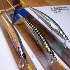 Homemade Fishing Lure Blog: Antonicont Handmade Lures. Check out that cool T-Shirt here: https://www.sunfrog.com/Fishing-T-Shirt-Black-Guys.html?53507