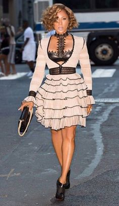 Marjorie Harvey....NYFW '15