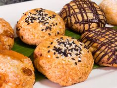 Manju Recipe | Foodland.  My aunt and uncle (both deceased) owned Home Made Bakery in Maui.  They are famous for their manju.