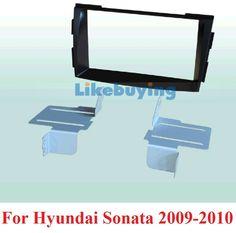 80.00$  Buy now - http://aligdc.worldwells.pw/go.php?t=1988166360 - 172*97.5mm Size Car Frame Dash Kit / Car Fascias for Hyundai Santafe 2007 2008 2009 2010 2011 2012 2013 Free Shipping
