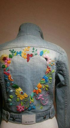55 Trendy Embroidery Jeans Jacket Ideas 55 Trendy Embroidery Jeans Jacket Ideas 55 Trendy Embroidery Jeans Jacket Ideas The post 55 Trendy Embroidery Jeans Jacket Ideas appeared first on Outfit Trends. Embroidery Fashion, Embroidery Dress, Hand Embroidery, Embroidery Designs, Denim Jacket Embroidery, Gilet Jeans, Jacket Jeans, Estilo Hippie, Denim Ideas