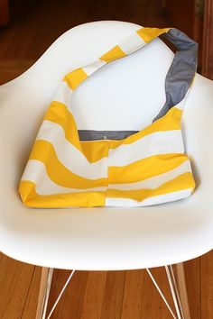 Looks easy enough to make using fabric left overs.