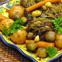 Easy Pot Roast with Vegetables Recipe