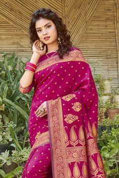 Teal Blue, Magenta, South Silk Sarees, Silk Sarees With Price, Kanjivaram Sarees, Saree Look, Wedding Sutra, Traditional Sarees, Designer Sarees