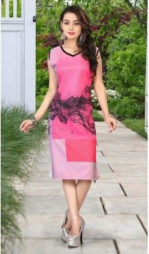 Deep Pink Color Crepe Silk Fabric Straight Style Readymade Kurtis | FH525980226 #linkinbio #instalike #follow #love #style #styles #streetstyle #streetwear #streetfashion #fashioninspo #styleinspiration #inspo #bodycon #fashionista #fashionblogger #kurtis #tops #tunic #indian #fashionblog #fashionable #fashionstyle #heenastyle #trend #trendy #trends #trending  #trendalert #styleoftheday @heenastyle