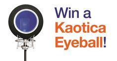 AudioNewsRoom - Win a Kaotica Eyeball - http://sweepstakesden.com/audionewsroom-win-a-kaotica-eyeball/