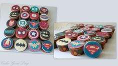 Superhelden cupcakes