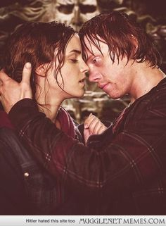 Ron and Hermione forever :)