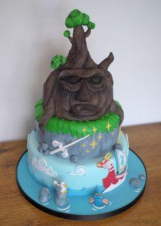 The Wind Waker cake - our fantaboulus wedding cake!