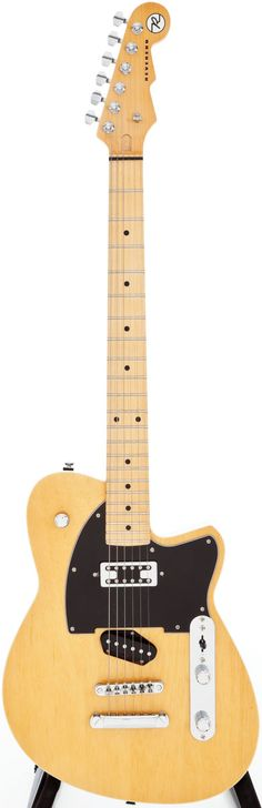 Reverend Buckshot Blonde Solid Body Electric Guitar, Serial # Nearly unplayed condition. No - Available at Thursday Vintage Guitar & Music. Rare Guitars, Unique Guitars, Vintage Guitars, Reverend Guitars, Body Electric, Guitar Design, 2000s, Acoustic Guitar, Worship