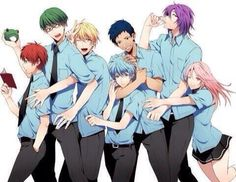 Anime önerisi :kuroko no basket. Kuroko No Basket, Anime Basket, Anime Nerd, Anime Guys, Manga Anime, Jack Frost Anime, Beautiful Boys, Gif Mignon, Kagami Kuroko