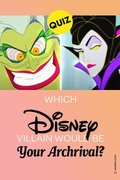 Ever wonder which Disney villain would be your worst enemy? Take this diabolical personality quiz and find out which Disney villain would be YOUR archrival! #disney #disneyquiz #disneyvillain #disneyquizzes #disneymovie