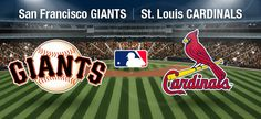 #Giants vs The #Cardinals today at 4:07. #whoswatching #baseball