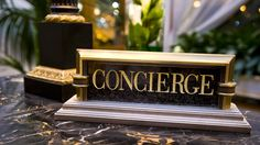 Concierge Desk Detail