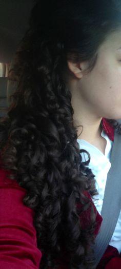 Long hair don't care! Apostolic style. Uncut curls :)