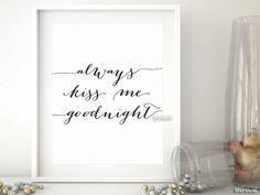 One year anniversary sale: always kiss me goodnight by blursbyaiShop on Etsy On december 1, 2013 I opened my shop. I want to celebrate my Etsy anniversary with you by offering a bunch of brand new products for $1. Thank you very much for the 3000+ sales, all the custom orders and stellar reviews during this year. (This offer will end on December 9). Happy holidays! - Rosana