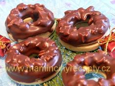 Christmas Sweets, Christmas Baking, Christmas Cookies, Doughnut, Nutella, Rum, Cookie Recipes, Biscuits, Bakery