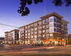 Exterior view of West Village Uptown Apartments in West Village Dallas