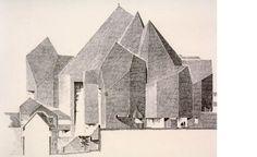 Exclusive Gottfried Bohm sketches | Architecture | Wallpaper* Magazine: design, interiors, architecture, fashion, art