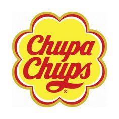 """For the design of the Chupa Chups logo, Salvador Dali incorporated the Chupa Chups name into a brightly coloured daisy shape. The brand name comes from the Spanish verb chupar, meaning """"to suck. Food Stickers, Printable Stickers, Laptop Stickers, Cute Stickers, Logo Design Liebe, Poster Retro, Tumblr Stickers, Retro Logos, Salvador Dali"""