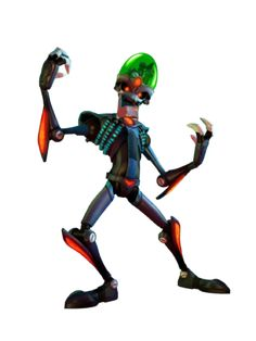 Dr. Nefarious from Ratchet and Clank.