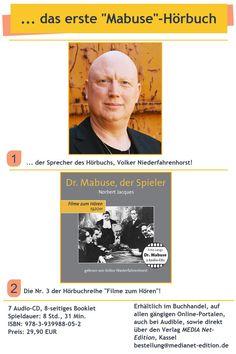 ... nach dem Sprecher haben wir lange gesucht! Fritz Lang, Movie Posters, Movies, Movie, Films, Film Poster, Cinema, Film, Movie Quotes
