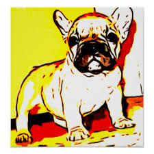 Image result for french bulldog art