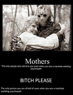 Scare Street Scare Squad (Official): A Sanctuary for Horror Lovers has members. Welcome to the Scare Street Scare Squad! Join our fellow horror. Jason Voorhees, Halloween Meme, Funny Shit, The Funny, Hilarious, Funny Stuff, Horror Movies Funny, Scary Movies, Movie Memes