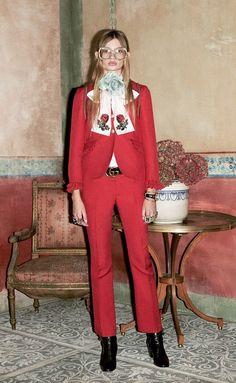 #Gucci Pre Fall 2016 – Paula Schinschel by Ari Marcopoulos