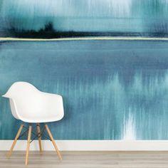 louise-body-still-lake-aqua-square-wall-mural