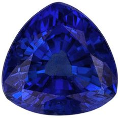 This Genuine Blue Sapphire Gemstone Displays A Medium Rich Blue. Very Clean & Well Cut. A Nice Bright Stone. Note For A Personal Detailed Description Of This Beautiful Blue Sapphire Gemstone, Includin