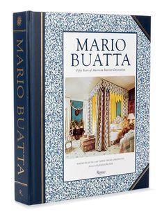 "Rizzoli's salute to Buatta's vivacious style: ""Mario Buatta: Fifty Years of American Interior Decoration"""