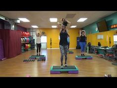 LEGS with step cardio blast! - YouTube