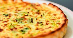 Recette de Tarte poireaux-fromage. Facile et rapide à réaliser, goûteuse et diététique. Ingrédients, préparation et recettes associées.