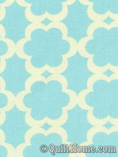 Kumari Garden DF90-Blue Fabric by Dena Designs