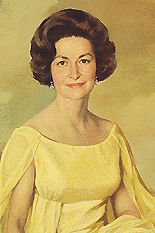 Lady Bird Johnson AKA Claudia Alta Taylor  Born: 22-Dec-1912 Birthplace: Karnack, TX Died: 11-Jul-2007 Location of death: Austin, TX Cause of death: Natural Causes Remains: Buried, Family cemetery, LBJ Ranch, Gillespie County, TX  Gender: Female Religion: Anglican/Episcopalian Race or Ethnicity: White Sexual orientation: Straight Occupation: First Lady Party Affiliation: Democratic  Nationality: United States Executive summary: Wife of US President Lyndon Baines Johnson