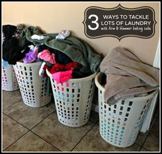 3 ways to tackle laundry with #ArmandHammer Baking Soda
