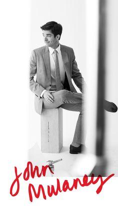 John Mulaney, comedian.... Hello! I am homeless, I am gay.... I'm New in Town! lol soo funny