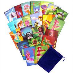 Rainbow Kids Yoga ABC Cards