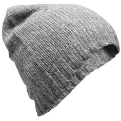 American Vintage Knit hat ($47) ❤ liked on Polyvore featuring accessories, hats, knit hat, gray hat, american vintage, grey knit hat and grey hat