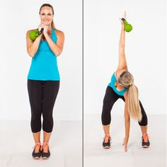 Drop the dumbbells and try this killer kettlebell circuit for total-body toning.