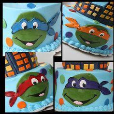 And Everything Sweet: Teenage Mutant Ninja Turtle Cake