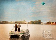 Lake / Pontoon / Engagement Pictures
