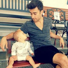 Phil Wickham and his daughter. ~ My daughter's husband (Joseph) is a Christian musician from San Diego, and a friend of Phil and Evan Wickham.