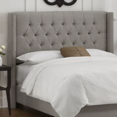 Skyline Furniture Tufted Wingback Headboardr - contemporary - headboards - Wayfair