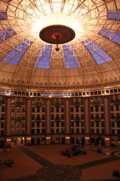 West Baden springs atrium