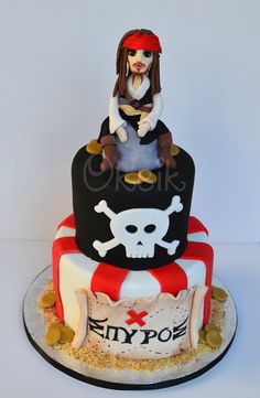 Jack Sparrow - Pirates cake