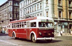 Ilyen is volt Budapest - évek, Rudas László (Podmaniczky László utca) Anno Domini, Budapest Hungary, Commercial Vehicle, Historical Photos, Old Photos, Evo, History, Vehicles, Homeland